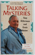 Books:Mystery & Detective Fiction, Tony Hillerman. SIGNED. Talking Mysteries. University of NewMexico, 1991. First edition, first printing. Sign...