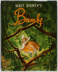 Books:Children's Books, [Walt Disney]. Bambi. Simon and Schuster, 1941. Firstedition, first printing. Hinges cracked. Minor rubbing. Ne...