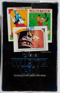 Books:Art & Architecture, [Walt Disney]. Seal Box of Disney Collector Cards. Impel, 1991. Minor rubbing and crushing to box. Overall fine....