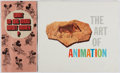 Books:Art & Architecture, [Walt Disney]. Group of Two Pamphlets. Disney, 1958-1972. Minor wear with small area of staining to Art of Animation. Ve...