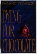 Books:Mystery & Detective Fiction, Diane Mott Davidson. INSCRIBED. Dying for Chocolate. Bantam,1992. First edition, first printing. Signed and i...