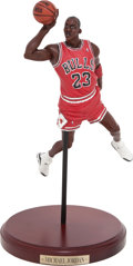 "Basketball Collectibles:Others, Michael Jordan Upper Deck ""Historical Beginnings"" Statue...."