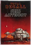 Books:Science Fiction & Fantasy, Piers Anthony. Total Recall. Morrow, 1989. First edition, first printing. Fine....