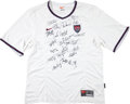 Miscellaneous Collectibles:General, 1999 United States Women's Soccer Team Signed Jersey - World CupChampions....