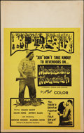 "Movie Posters:Exploitation, Moonshine Mountain (Creative Communications, 1964). Window Card(14"" X 22""). Exploitation.. ..."
