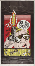 "Movie Posters:Crime, 99 and 44/100% Dead (20th Century Fox, 1974). International Three Sheet (41"" X 76""). Crime.. ..."