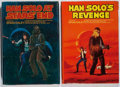 """Books:Science Fiction & Fantasy, [Star Wars]. Brian Daley. Group of Two First Edition Books. Del Rey, 1979. Star's End is signed by Peter """"Chewbacc... (Total: 2 Items)"""