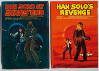 [Star Wars]. Brian Daley. Group of Two First Edition Books. Del Rey, 1979. Star's End is sig