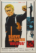 "Movie Posters:Crime, Bullitt (Warner Brothers, 1968). Argentinean Poster (29"" X 43"").Crime.. ..."