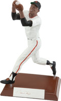 Baseball Collectibles:Others, Willie Mays Signed Salvino Statue....