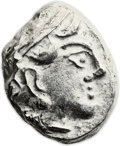 Ancients:Greek, Ancients: SYRIA or MESOPOTAMIA. Imitating Athens. Ca. 331-310 BC.AR tetradrachm (23mm, 15.93 gm, 9h). ...
