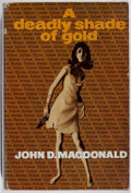 Books:Mystery & Detective Fiction, John D. MacDonald. A Deadly Shade of Gold. Robert Hale,1967. First British edition, first printing. Spine sunned. T...