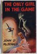 Books:Mystery & Detective Fiction, John D. MacDonald. The Only Girl In the Game. Robert Hale,1962. First British edition, first printing. Toning and l...