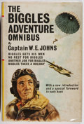 Books:Fiction, W. E. Johns. The Biggles Adventure Omnibus. Hodder and Stoughton, 1965. Combined edition. Price-clipped. Toning ...