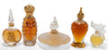 Art Glass:Other , FIVE BOXED VARIOUS PERFUMES . 20th century . ... (Total: 5 Items)