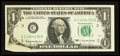 Error Notes:Foldovers, Fr. 1900-C $1 1963 Federal Reserve Note. Very Fine.. ...