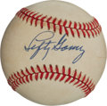 Baseball Collectibles:Balls, Lefty Gomez Single Signed Baseball. ...