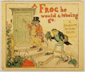 Books:Children's Books, R. Caldecott. A Frog He Would A-Wooing Go. Warne, [n. d.].Minor toning and rubbing. Textblock detached from bin...