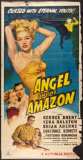 "Movie Posters:Adventure, Angel on the Amazon (Republic, 1948). Three Sheet (41"" X 78.5"").Adventure.. ..."