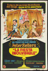 """The Party (United Artists, 1968). Argentinean Poster (29"""" X 43""""). Comedy"""