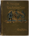 Books:Literature Pre-1900, Mark Twain. A Connecticut Yankee in King Arthur's Court.Webster, 1889. First edition. Owner's name. Hinges brok...