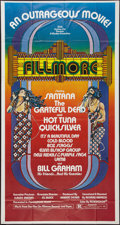 """Movie Posters:Rock and Roll, Fillmore (20th Century Fox, 1972). Three Sheet (41"""" X 77""""). Rockand Roll.. ..."""