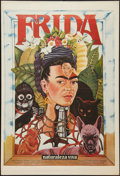 "Movie Posters:Drama, Frida (Clasa Films Mundiales, 1984). Argentinean Poster (29"" X 43""). Drama.. ..."