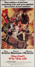 "Movie Posters:Adventure, You Can't Win 'Em All (Columbia, 1970). Three Sheet (41"" X 78"").Adventure.. ..."