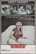 "Movie Posters:Sexploitation, Ginger & Other Lot (Joseph Brenner Associates, 1971). OneSheets (2) (27"" X 41"" & 27.5"" X 41""). Sexploitation.. ...(Total: 2 Items)"