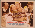 """Movie Posters:Sports, Joe Palooka in The Knockout (Monogram, 1947). Title Lobby Card (11"""" X 14""""). Sports.. ..."""