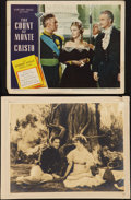 "Movie Posters:Adventure, The Count of Monte Cristo (United Artists, 1934 & Eagle Lion,R-1948). Photo (10.5"" X 13.5"") & Lobby Card (11"" X 14""...(Total: 2 Items)"