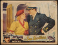 "Movie Posters:Action, The Sea Spoilers (Universal, 1936). Lobby Card (11"" X 14""). Action.. ..."