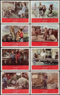 """Movie Posters:Western, Shane (Paramount, R-1966). Lobby Card Set of 8 (11"""" X 14""""). Western.. ... (Total: 8 Items)"""