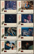 "Movie Posters:Western, True Grit (Paramount, 1969). Lobby Card Set of 8 (11"" X 14""). Western.. ... (Total: 8 Items)"