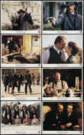 "Movie Posters:Western, Wyatt Earp (Warner Brothers, 1994). Mini Lobby Card Set (8"" X 10""). Western.. ... (Total: 8 Items)"