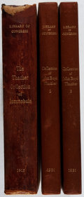 Books:Books about Books, [Books About Books]. Frederick W. Ashley [editor]. Catalogue of the John Boyd Thacher Collection of Incunabula. Vo... (Total: 3 Items)