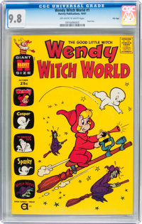 Wendy Witch World #1 File Copy (Harvey, 1961) CGC NM/MT 9.8 Off-white to white pages
