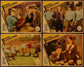 """Movie Posters:Sports, Touchdown (Paramount, 1931). Lobby Cards (4) (11"""" X 14""""). Sports.. ... (Total: 4 Items)"""