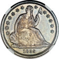 Seated Dimes, 1839-O 10C No Drapery SP65 NGC. Fortin-106....