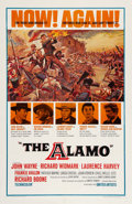 """Movie Posters:Western, The Alamo (United Artists, R-1967). One Sheet (27"""" X 41""""). Western.. ..."""