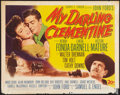 "Movie Posters:Western, My Darling Clementine (20th Century Fox, 1946). Half Sheet (22"" X 28""). Western.. ..."