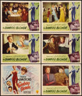 """Movie Posters:War, The Bamboo Blonde (RKO, 1946). Title Lobby Card and Lobby Cards (5)(11"""" X 14""""). War.. ... (Total: 6 Items)"""