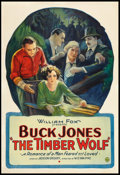 """Movie Posters:Western, The Timber Wolf (Fox, 1925). One Sheet (28.25"""" X 41""""). Western.. ..."""