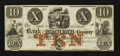 Obsoletes By State:Michigan, Mt. Clemens, MI- Bank of Macomb County $10 Apr. 1, 1858. ...