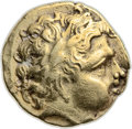 Ancients:Celtic, Ancients: CELTIC GAUL. Northwest Region. The Redones. Ca. 2nd century BC. AV stater (21mm, 8.04 gm, 9h). ...