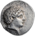 Ancients:Greek, Ancients: PAEONIAN KINGDOM. Patraus (ca. 335-315 BC). ARtetradrachm (27mm, 12.79 gm, 3h). ...