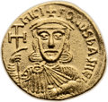 Ancients:Byzantine, Ancients: Nicephorus I and Stauracius (AD 802-811). AV solidus(20mm, 4.34 gm, 6h). ...