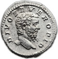 Ancients:Roman Imperial, Ancients: Divus Septimius Severus (died AD 211). AR denarius (19mm,3.42 gm, 6h). ...