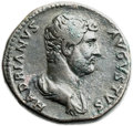 Ancients:Roman Imperial, Ancients: Hadrian (AD 117-138). Orichalcum sestertius (31mm, 26.14gm, 12h). ...