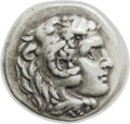 Ancients:Greek, Ancients: Alexander III the Great (336-323 BC). AR drachm (17mm,4.18 gm, 1h)....